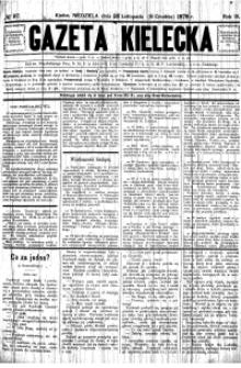 Gazeta Kielecka, 1878, R.9, nr 47