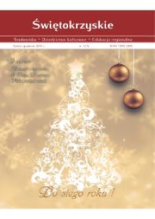 Świętokrzyskie - Środowisko, Dziedzictwo Kulturowe, Edukacja Regionalna, nr 3(7)