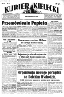 Kurier Kielecki 1941, nr 244