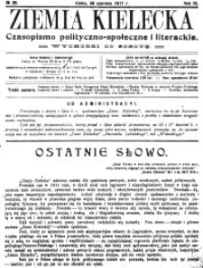 Ziemia Kielecka. Czasopismo polityczno-społeczne i literackie, 1916, R.2, nr 51