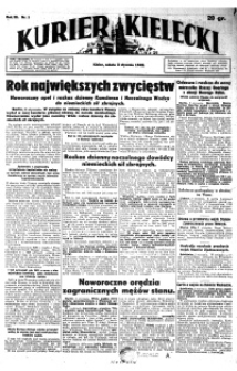 Kurier Kielecki 1942, nr 281
