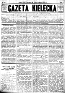 Gazeta Kielecka, 1879, R.10, nr 4