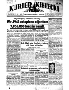 Kurier Kielecki, 1943, nr 209