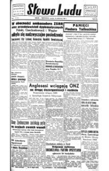 Słowo Ludu : organ Komitetu Wojewódzkiego Polskiej Zjednoczonej Partii Robotniczej, nr 1