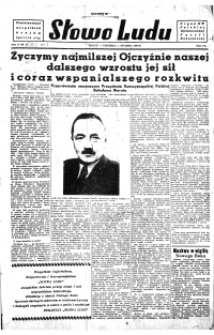 Słowo Ludu : organ Komitetu Wojewódzkiego Polskiej Zjednoczonej Partii Robotniczej, 1950, R.2, nr 27